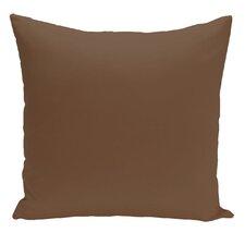 Merauke Solid Decorative Throw Pillow