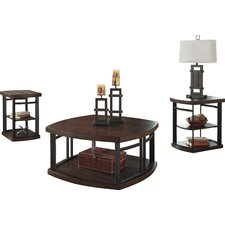 Dube 3 Piece Coffee Table Set