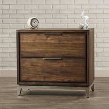 Waller 2 Drawer Nightstand