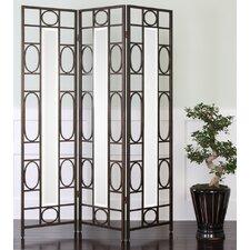 "Tutuala 70"" x 54.25"" 3 Panel Room Divider"