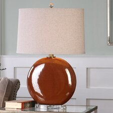 """Buda 28.25"""" H Table Lamp with Empire Shade"""