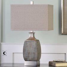"Dumai 27.5"" H Table Lamp with Rectangular Shade"