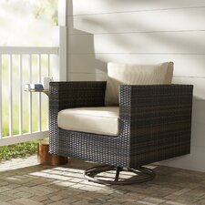 Lara Swivel Rocking Chair with Cushions