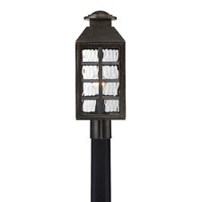 Lingo 1 Light Outdoor Post Light