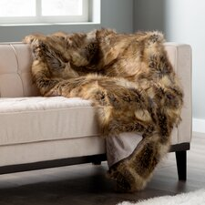 Higgin Faux Fur Lounge Throw
