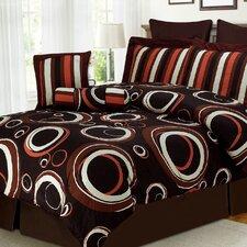 Mayne 8 Piece King Bed in a Bag Set