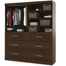 """Walley 71.6"""" Wide Closet System"""