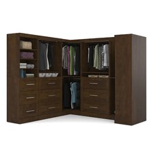 "Walley 100.2"" Wide Closet System"
