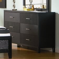 DeBary 6 Drawer Dresser