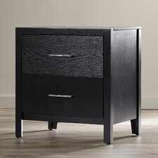 Bill 2 Drawer Nightstand