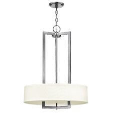 Fouche 3 Light Drum Pendant