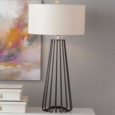 """Anchondo 33"""" Table Lamp with Drum Shade (Set of 2)"""