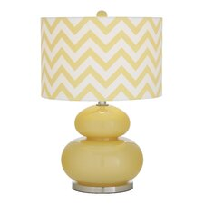 """Bartee 23.5"""" Table Lamp with Drum Shade"""