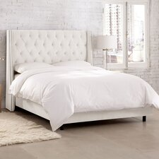 Herb Upholstered Panel Bed
