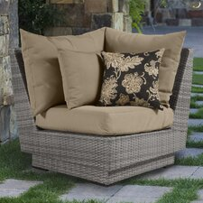 Cannes Corner Chair with Cushion