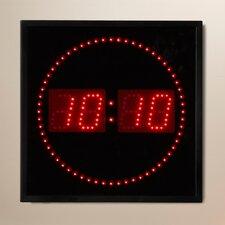 "Dundalk 11"" LED Digital Square Dot Wall Clock"