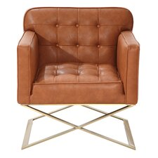 Chilton Lounge Chair in Brown