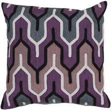Chew Stoke Retro Modern Cotton Throw Pillow