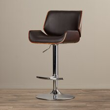 Connor Adjustable Height Swivel Bar Stool