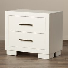 Laclubar 2 Drawer Nightstand