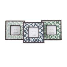Kenn Geometric Ceramic Picture Frame (Set of 3)