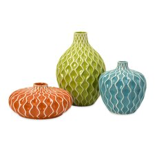 bristol 3 piece vase set