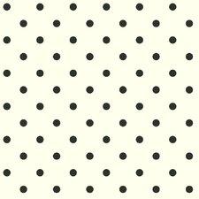 "Chittening 33' x 20.5"" Polka Dot Wallpaper"