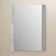 Longwell Green Frameless Wall Mirror