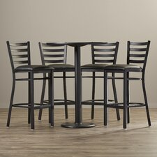 5 Piece Pub Height Dining Set