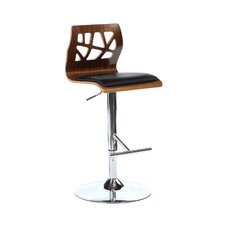 Little Badminton Adjustable Height Swivel Bar Stool
