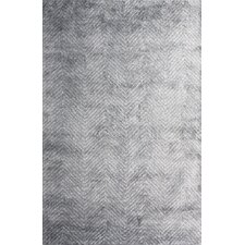 Nasir Hand-Woven Gray Area Rug