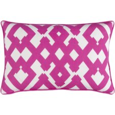 Mccarty Large Zig Zag Linen Throw Pillow