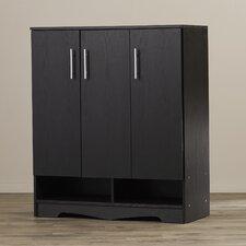 Francisco Modern 15-Pair Shoe Storage Cabinet