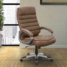Singkawang High-Back Executive Chair with Lumbar Support
