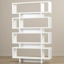 "Salatiga 72.75"" Accent Shelves Bookcase"