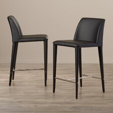 "Zackary 26"" Bar Stool (Set of 2)"