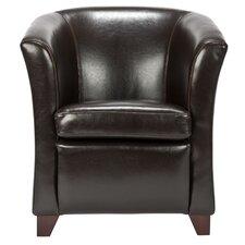 Apollo Leather Barrel Chair