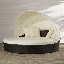 Sancho Canopy 4 Piece Lounge Seating Group with Cushion