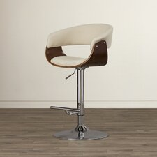 Gale Adjustable Height Swivel Bar Stool