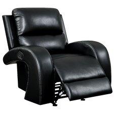 Willard Faux Leather Recliner