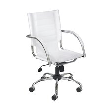 Emerson Mid-Back Leather Conference Chair
