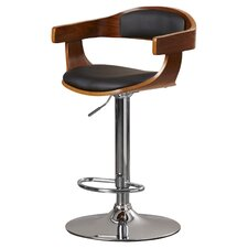 Santino Adjustable Height Swivel Bar Stool