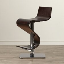 The Adjustable Height Swivel Bar Stool