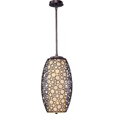 Stefano 2 Light Pendant with Dusty White Glass