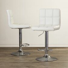 Taylor Adjustable Height Swivel Bar Stool (Set of 2)
