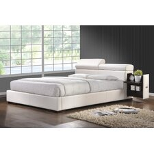 Upholstered Storage Platform Bed