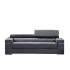 Orlando Leather Loveseat
