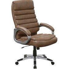 Singkawang High-Back Executive Chair with Lumbar Support