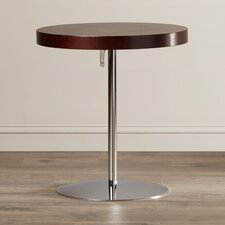 Acosta Wood Adjustable End Table