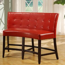 Christensen Counter Height Leatherette Bench